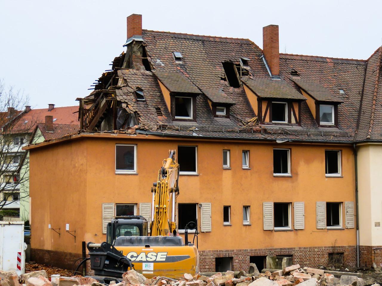 nedbrydning af hus