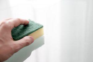 rengøring efter skimmelsvamp
