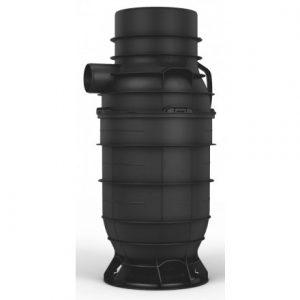 Wavin 315x 110 mm PP-Sandfangsbrønd PLUS vandlås
